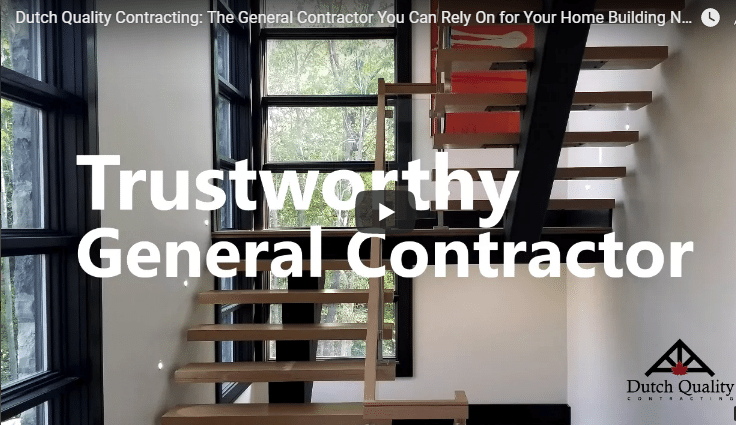 We Are The General Contractor That Can Help You With Your Building Needs in Collingwood, ON