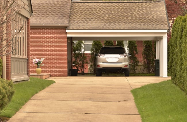 How Well Can Carports Be Built Outside Garages?